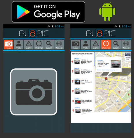 To utilize all of PL8PIC's features, you first need to download the app before creating a website account.